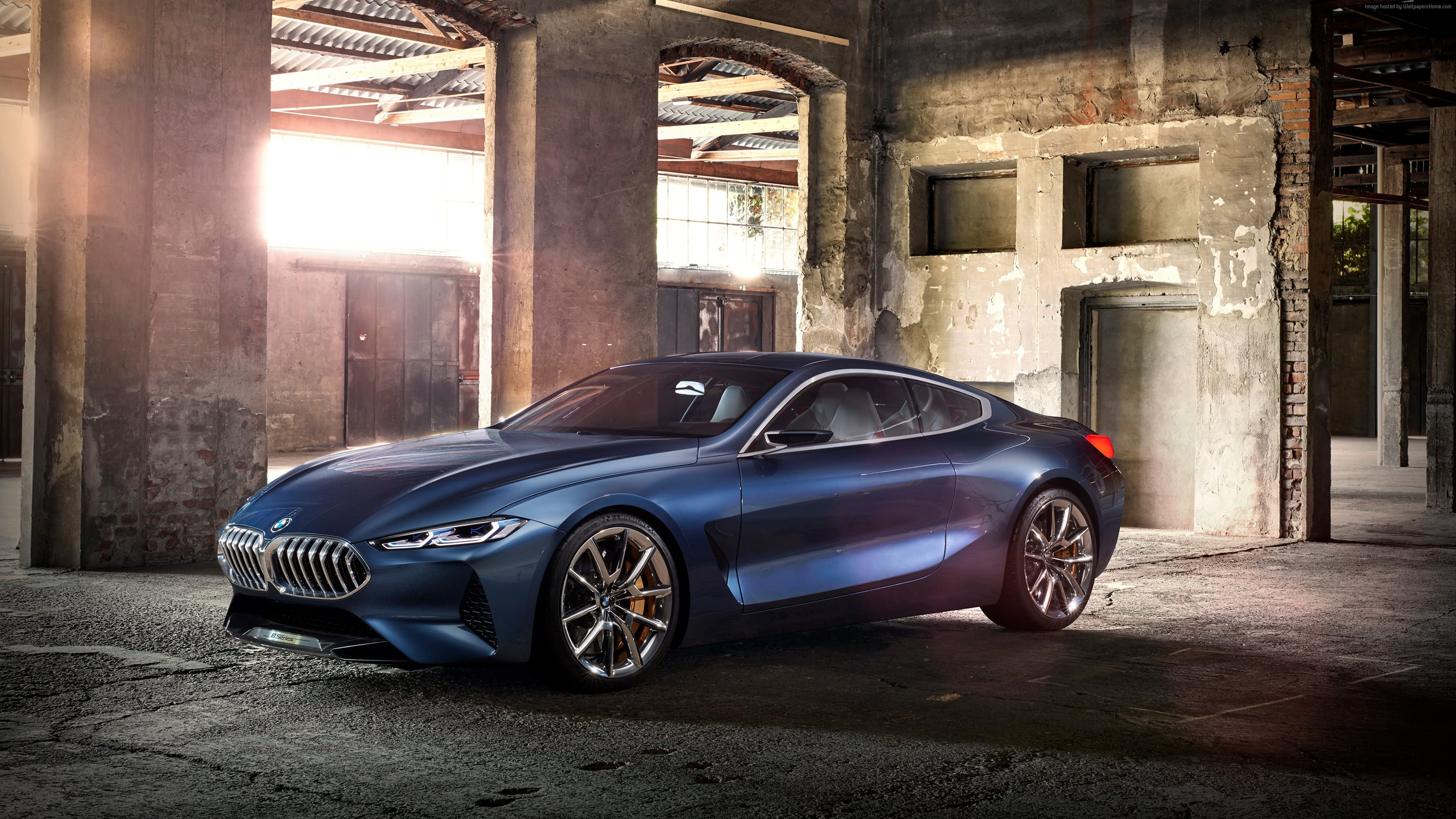 bmw 8 series gran coupe uhd 4k wallpaper