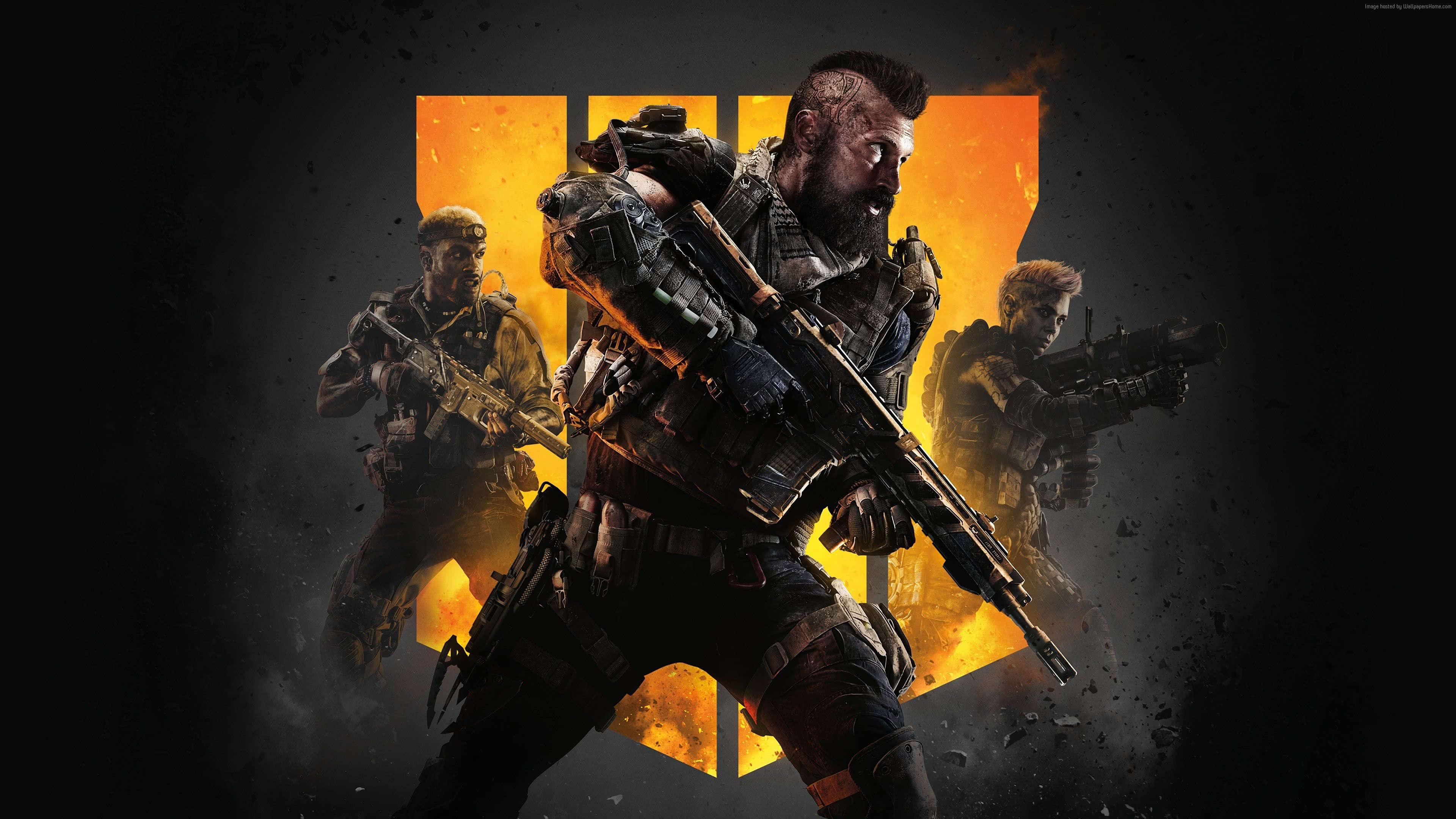 Call Of Duty Black Ops 4 Cover UHD 4K Wallpaper - Pixelz.cc