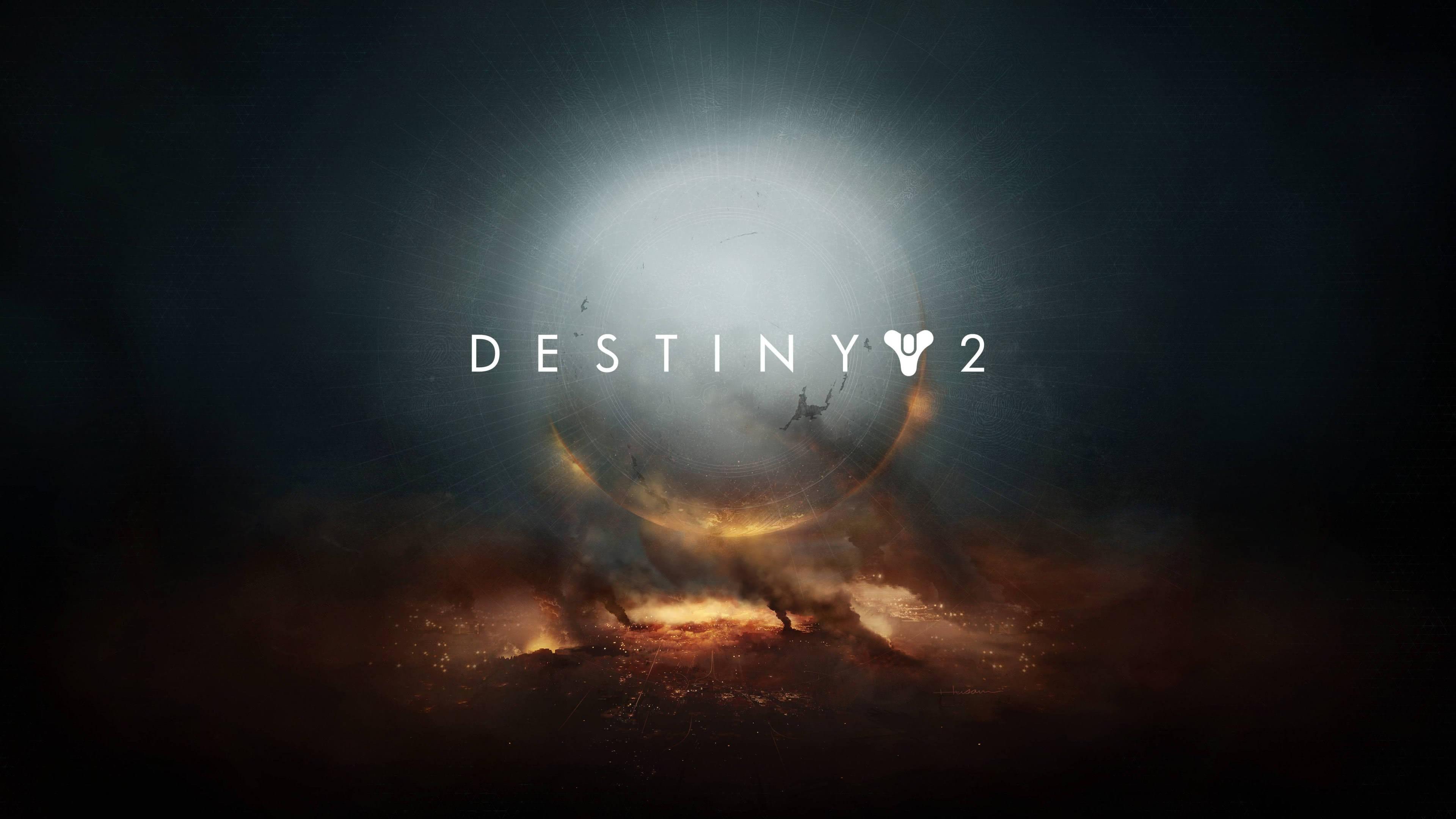 destiny 2 logo uhd 4k wallpaper