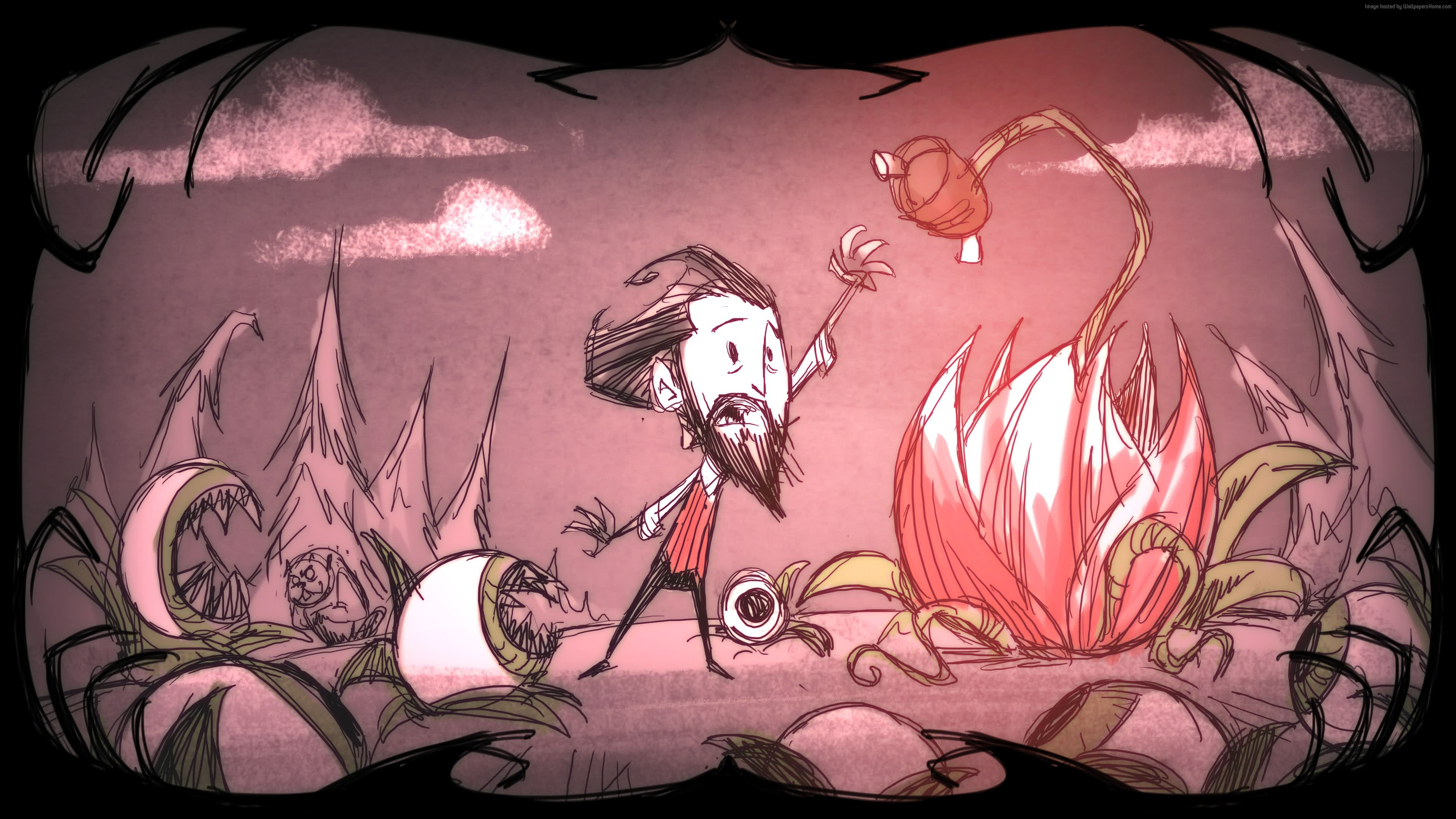 dont starve shipwrecked uhd 4k wallpaper