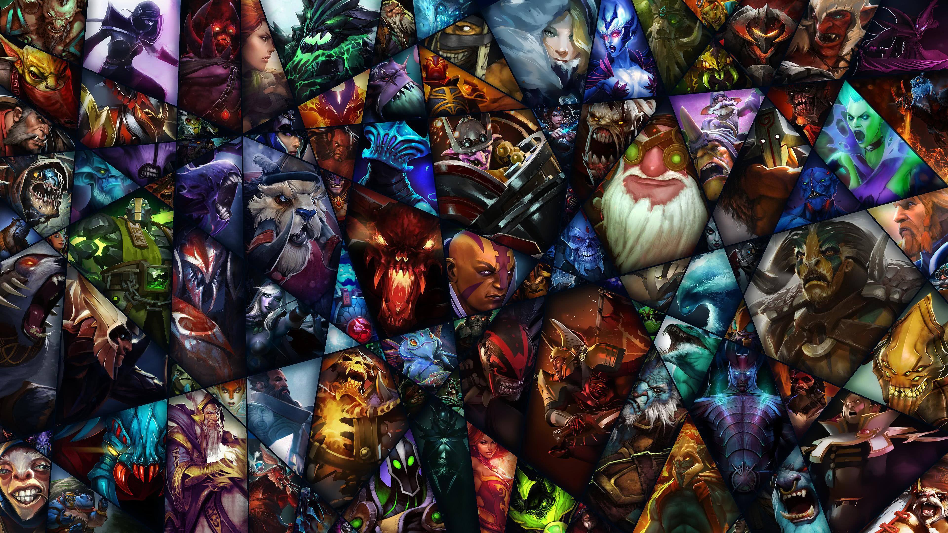 Dota 2 Heroes UHD 4K Wallpaper | Pixelz