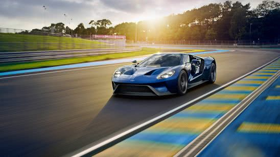 ford gt race track uhd 4k wallpaper