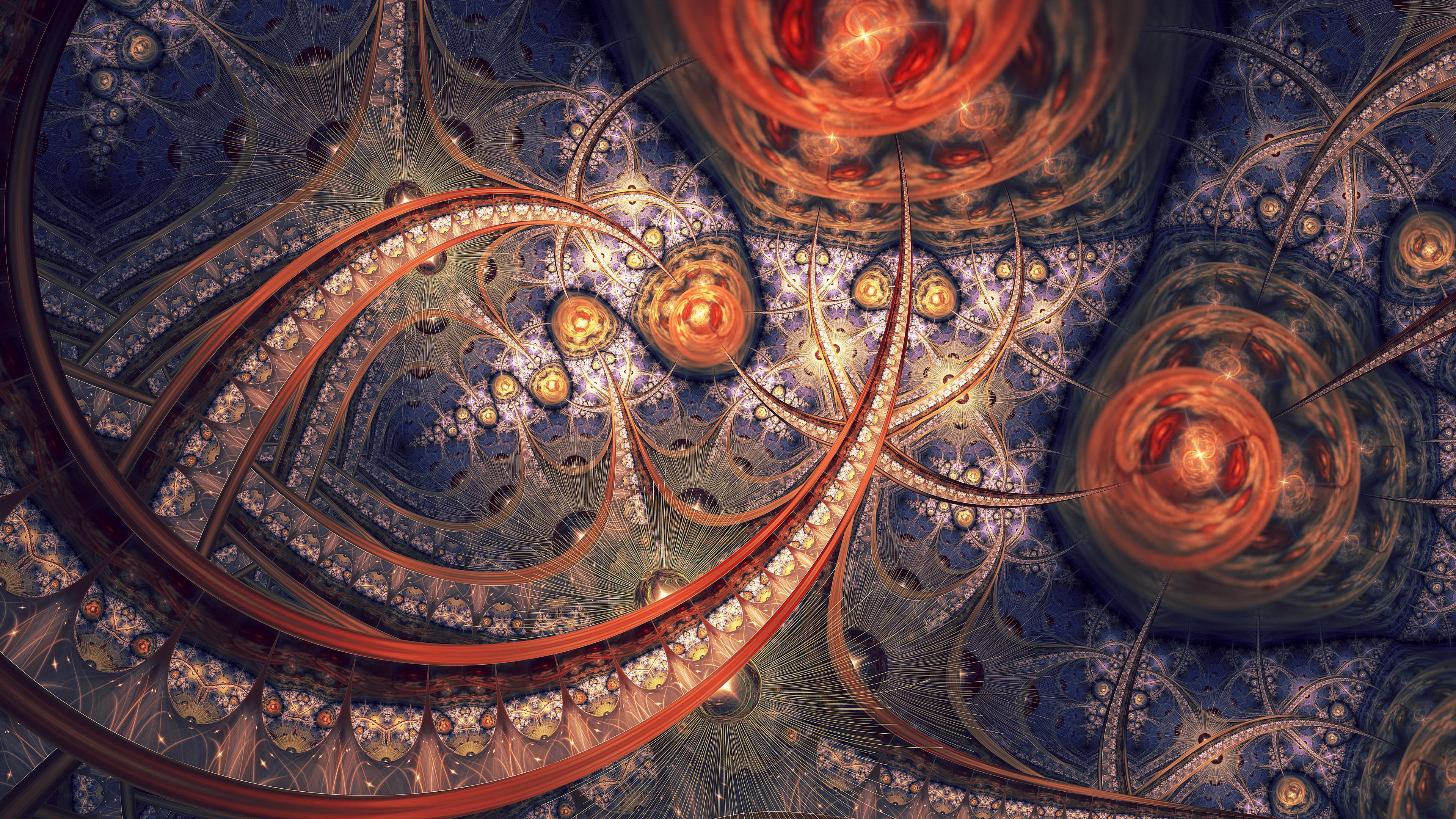 Fractals Art UHD 4K Wallpaper