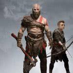 god of war 4 kratos and atreus uhd 4k wallpaper