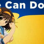 "<span itemprop=""name"">Haruhi Suzumiya We Can Do It</span>"
