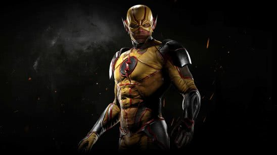 injustice 2 reverse flash wqhd 1440p wallpaper