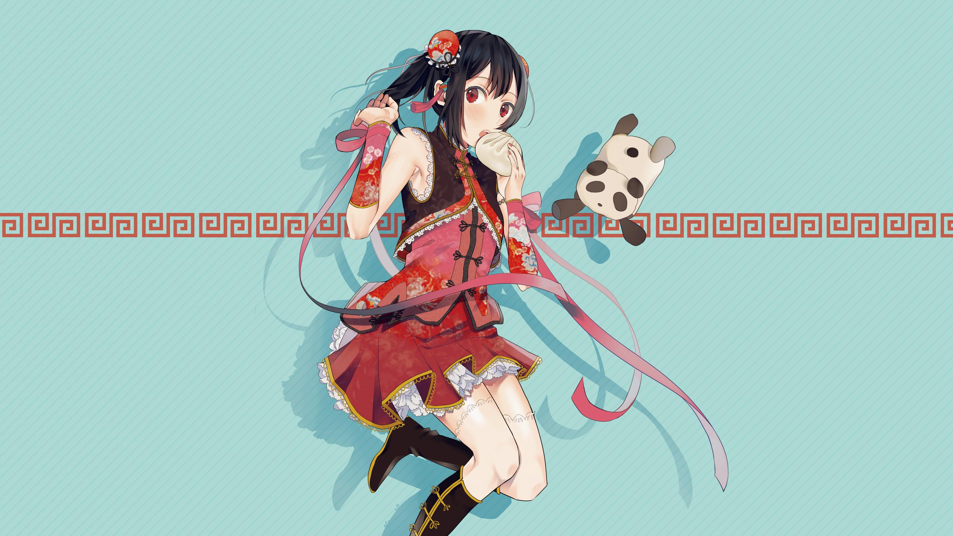 Kawaii Anime Girl UHD 4K Wallpaper | Pixelz