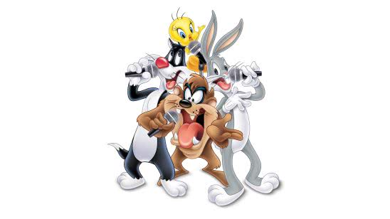 looney tunes sylvester tweety taz bugs bunny uhd 4k wallpaper