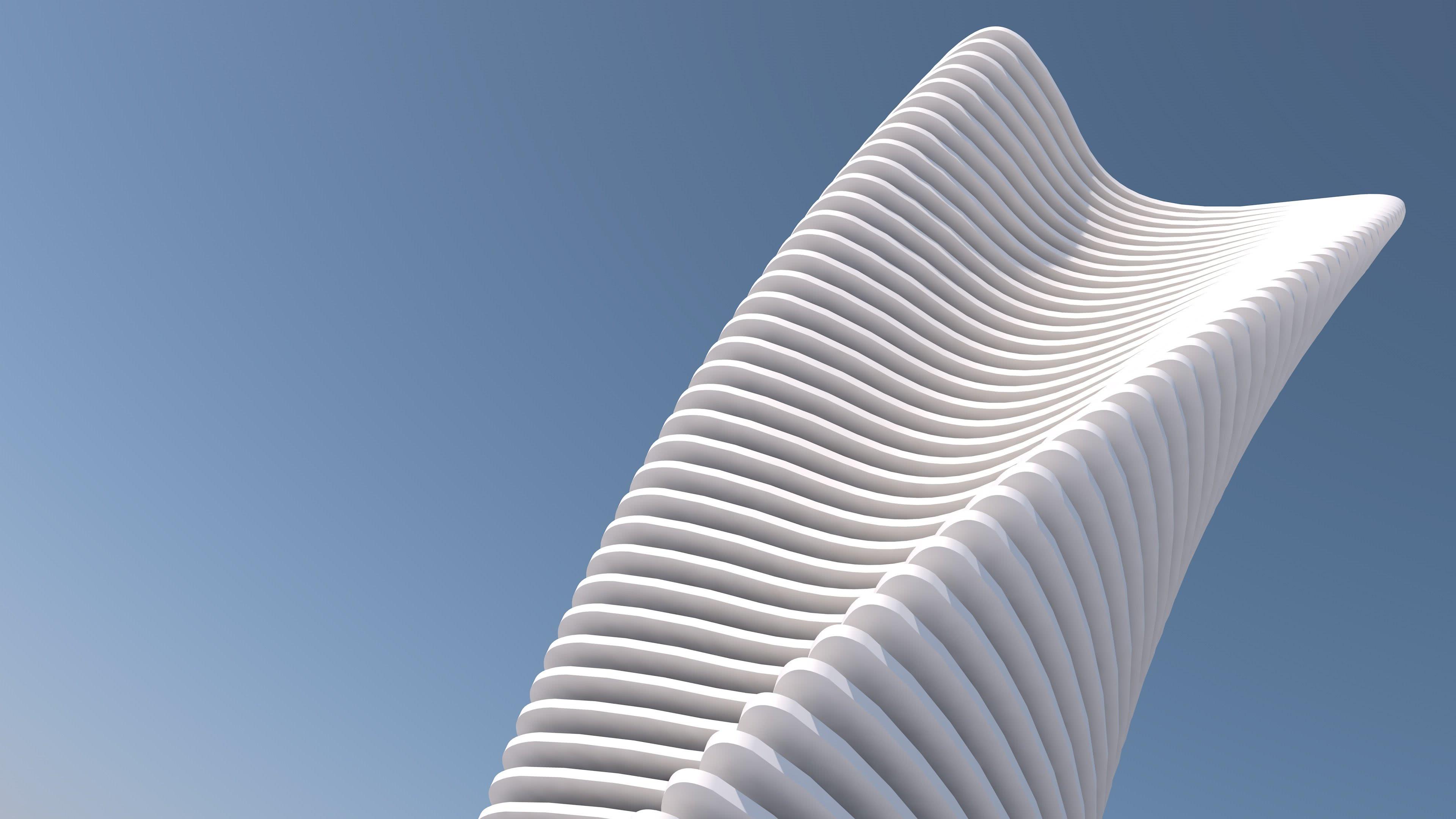 minimalist architecture uhd 4k wallpaper