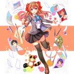monthly girls nozaki kun gekkan shoujo uhd 4k wallpaper
