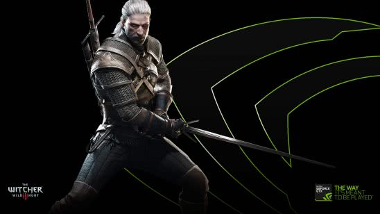 nvidia the witcher 3 geralt uhd 4k wallpaper