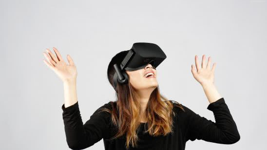 oculus rift virtual reality headset uhd 4k wallpaper