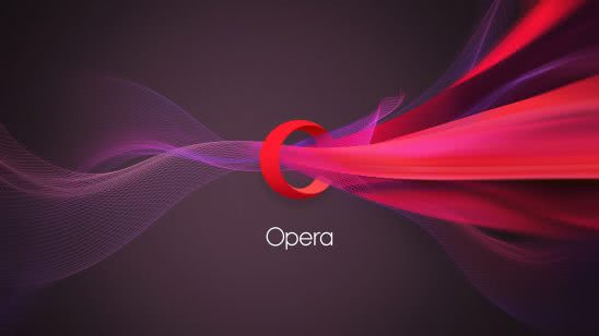 opera logo wqhd 1440p wallpaper