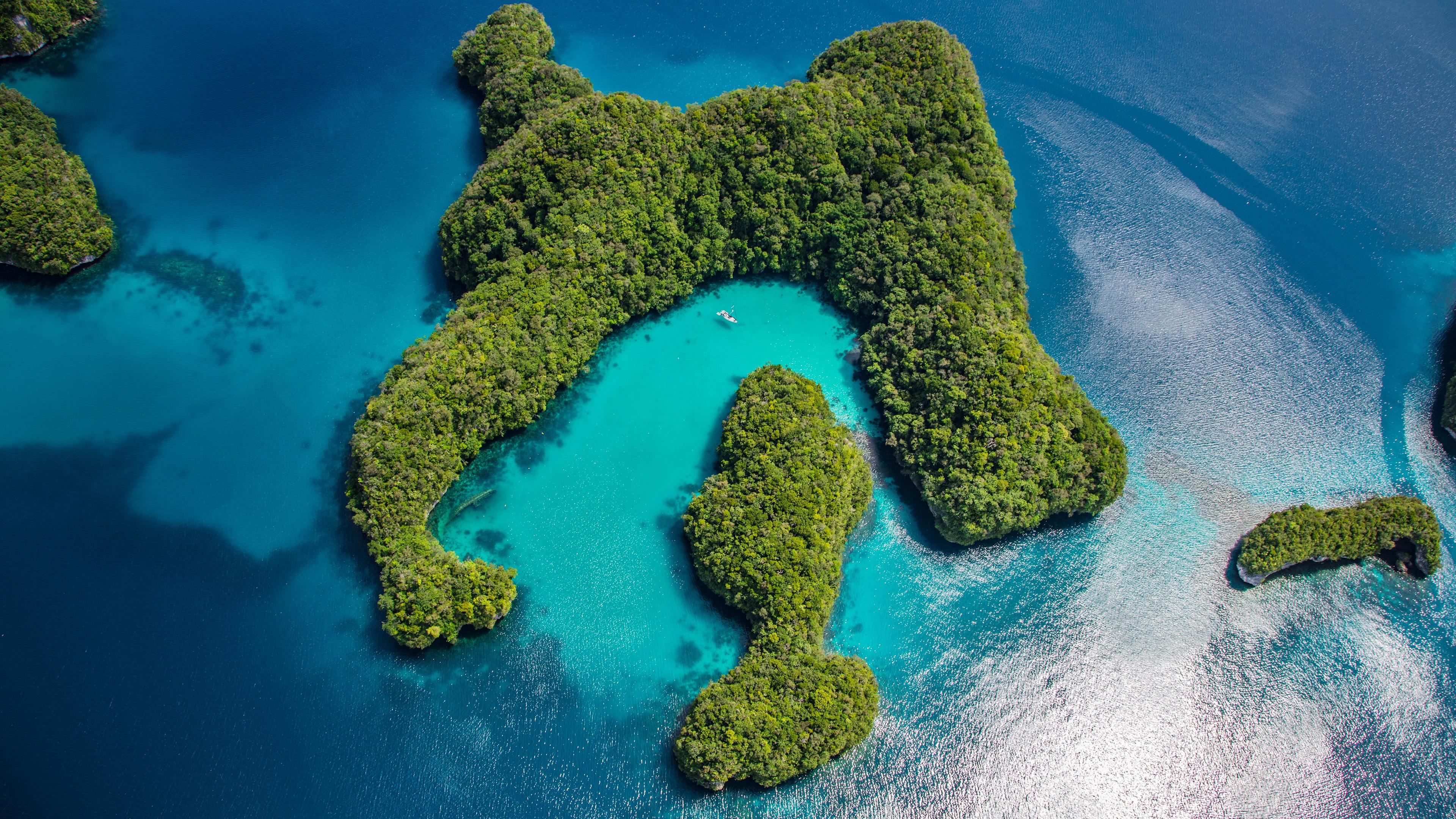 palau philippines islands uhd 4k wallpaper