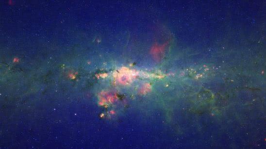 peony nebula wr 102ka milky way uhd 4k wallpaper