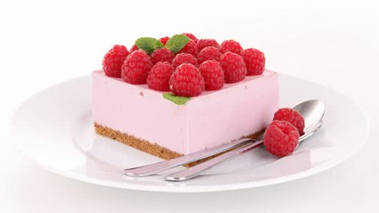 raspberry cheesecake uhd 4k wallpaper
