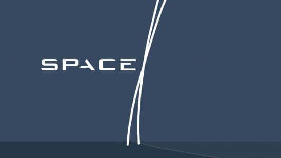 space x logo uhd 4k wallpaper