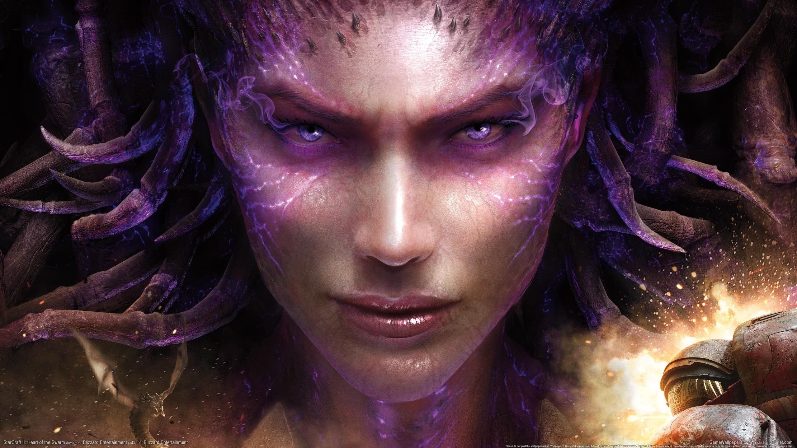 Starcraft ii heart of the swarm sarah kerrigan wqhd 1440p - Sarah kerrigan wallpaper ...