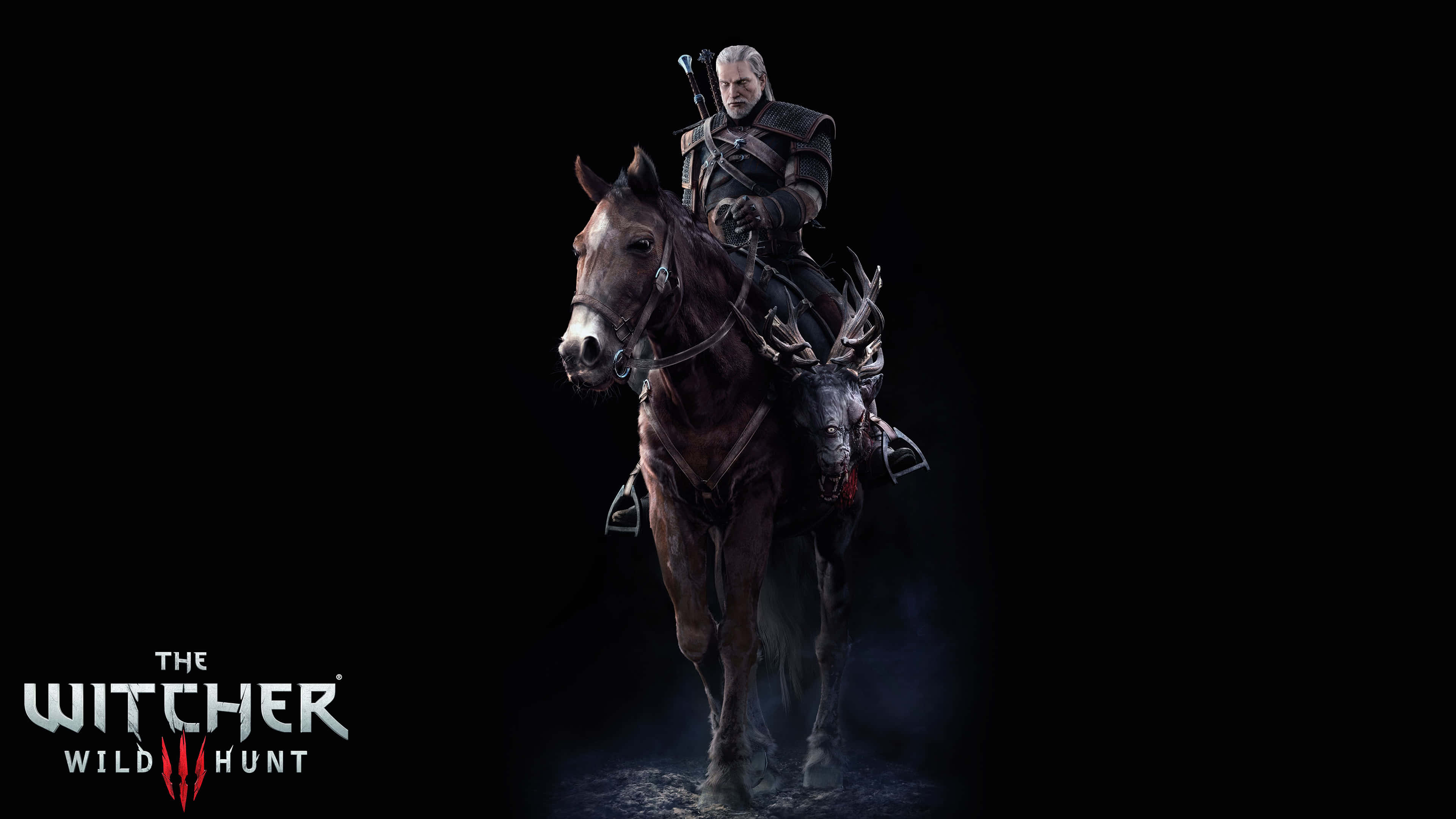 The Witcher 3 Wild Hunt Geralt And Roach Uhd 4k Wallpaper Pixelz