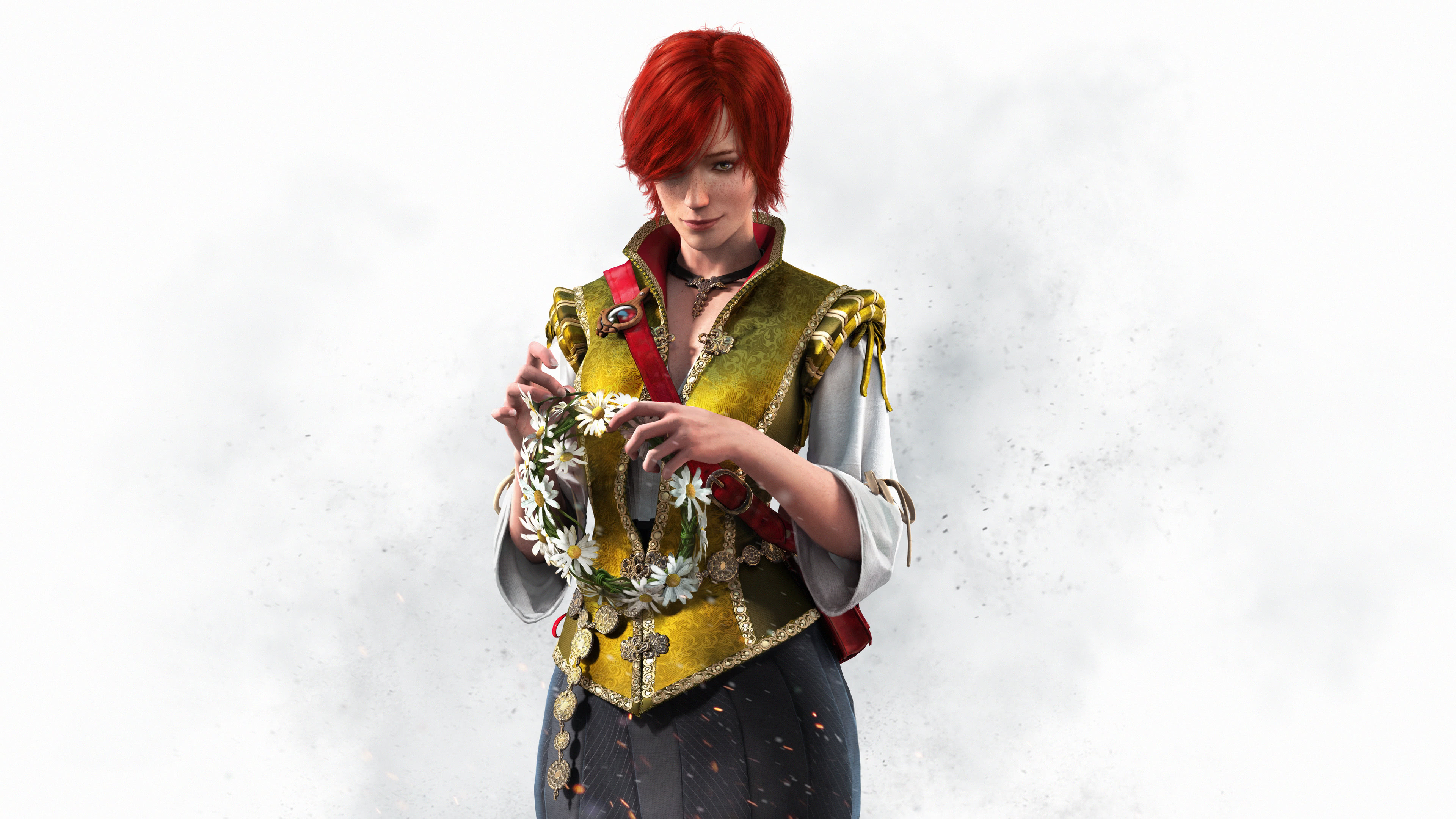 the witcher 3 wild hunt shani uhd 4k wallpaper