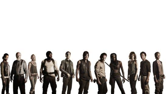 walking dead cast uhd 4k wallpaper