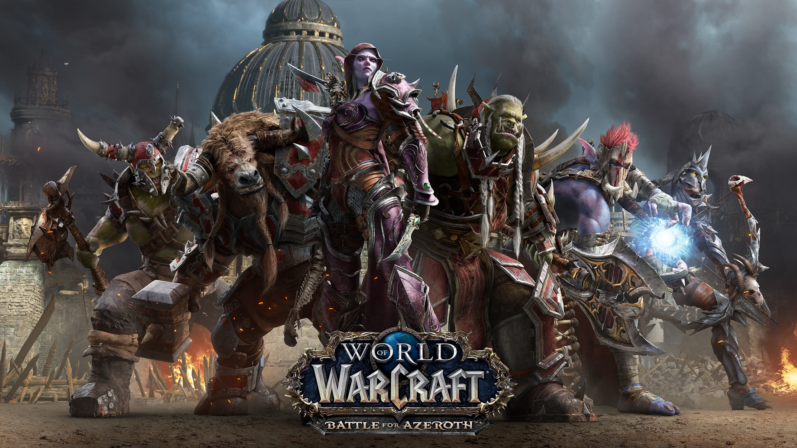 World Of Warcraft Battle For Azeroth Horrde Wqhd 1440p Wallpaper