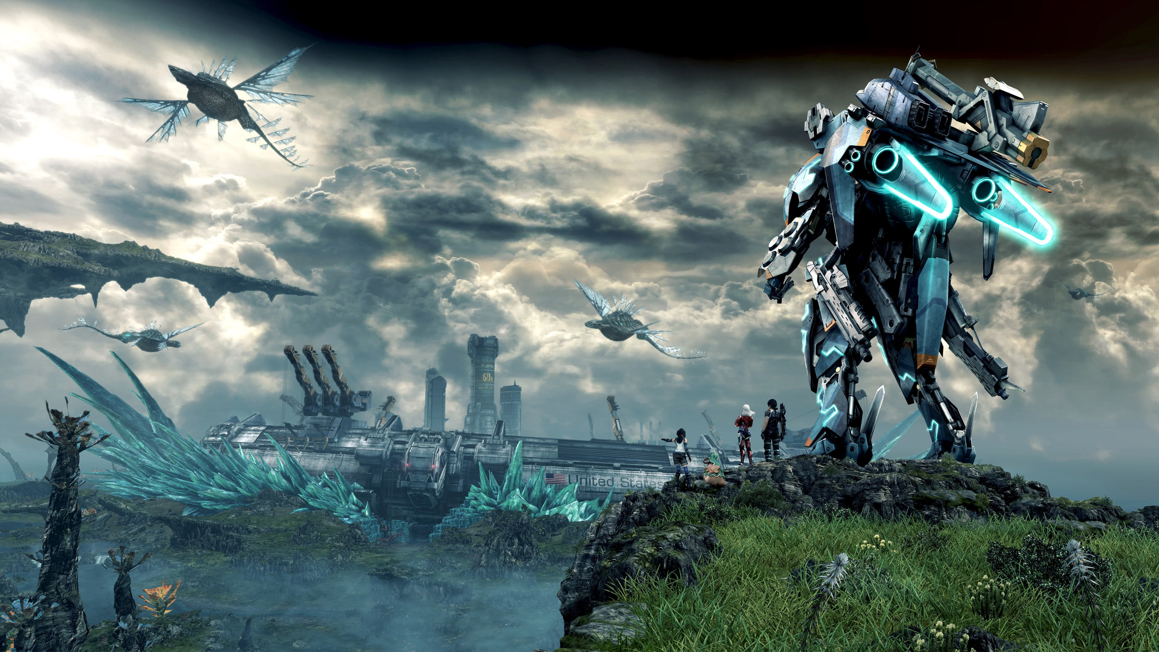 xenoblade chronicles x uhd 4k wallpaper