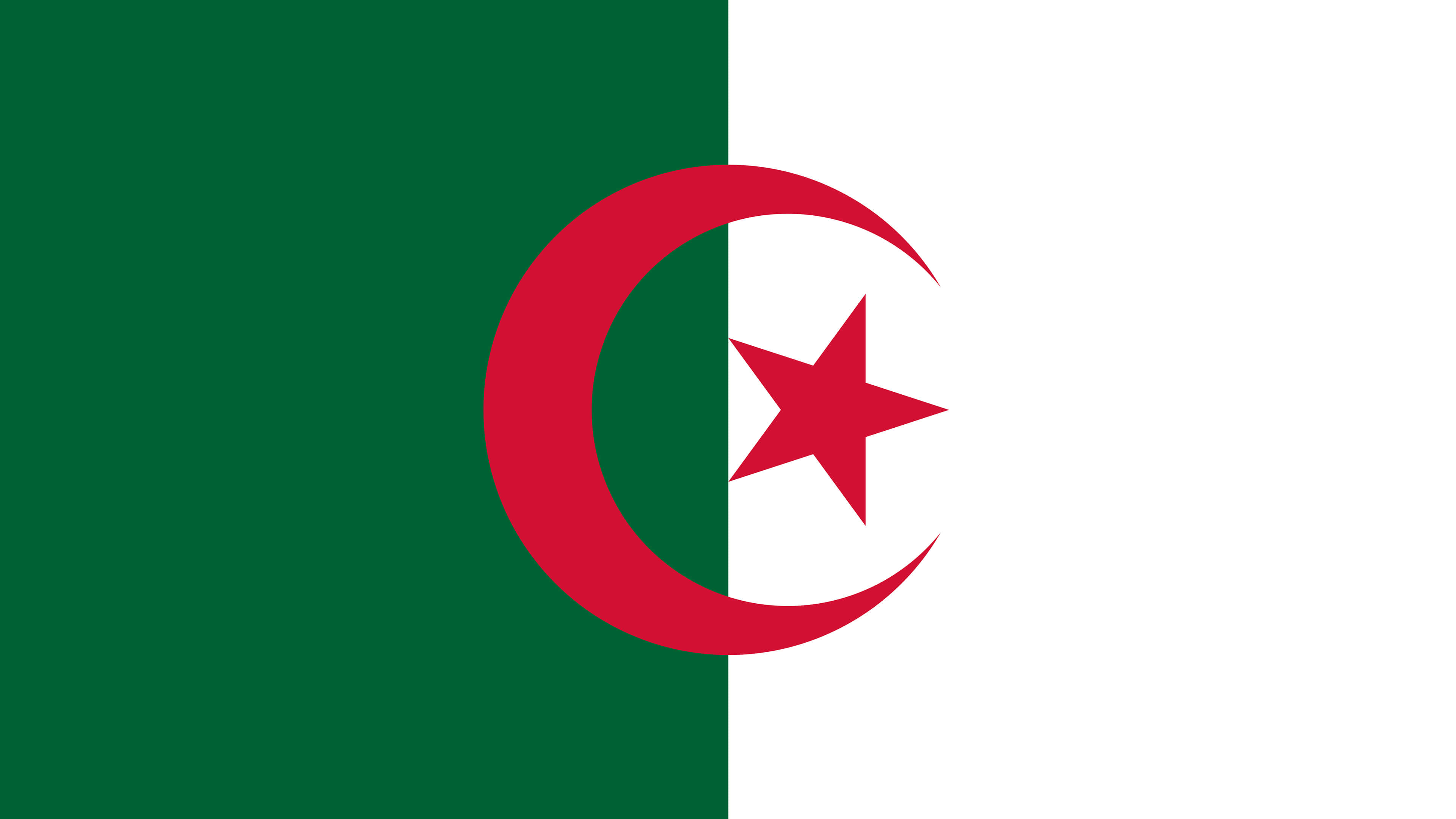 algeria flag uhd 4k wallpaper