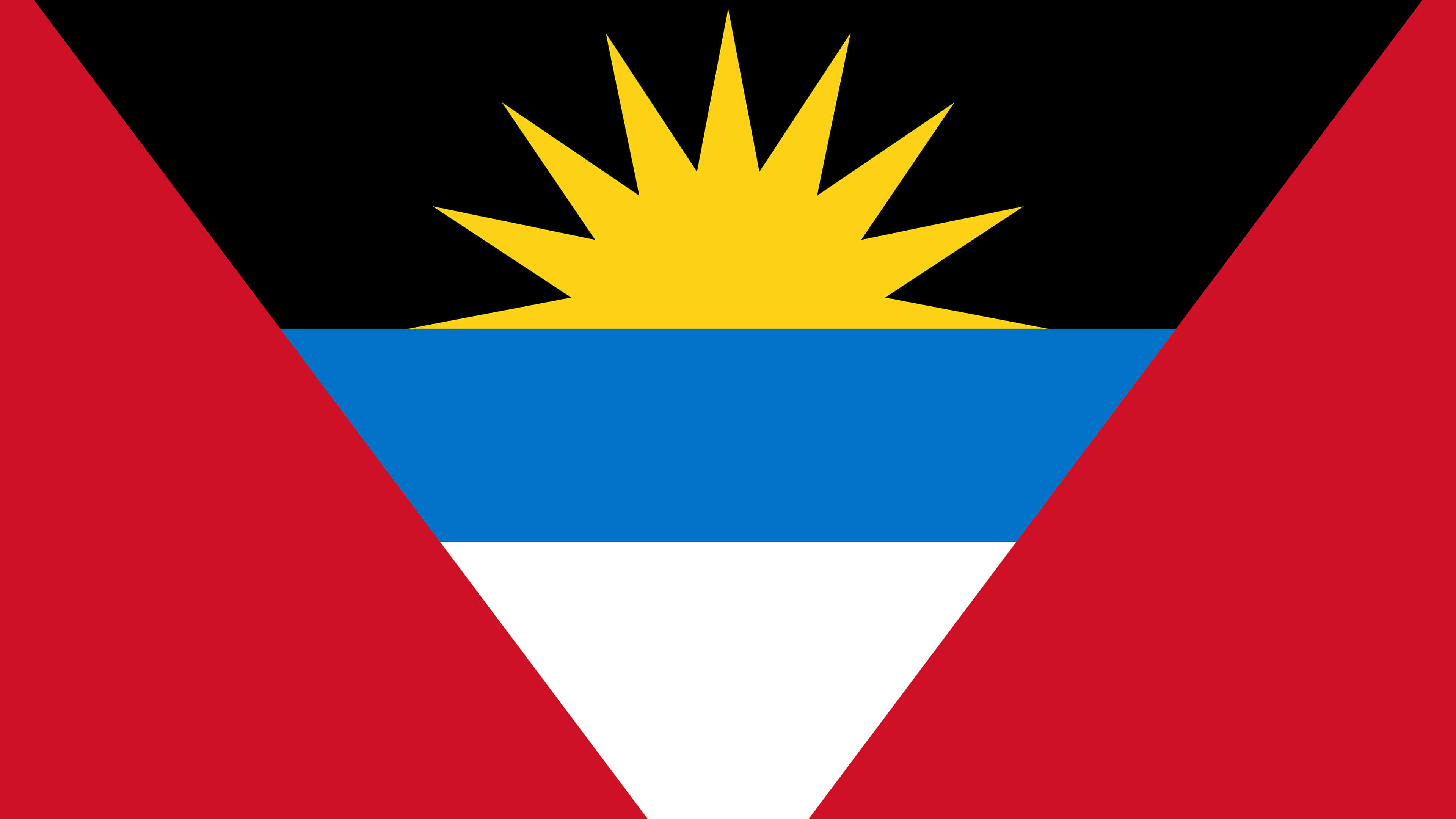 antigua and barbuda flag uhd 4k wallpaper