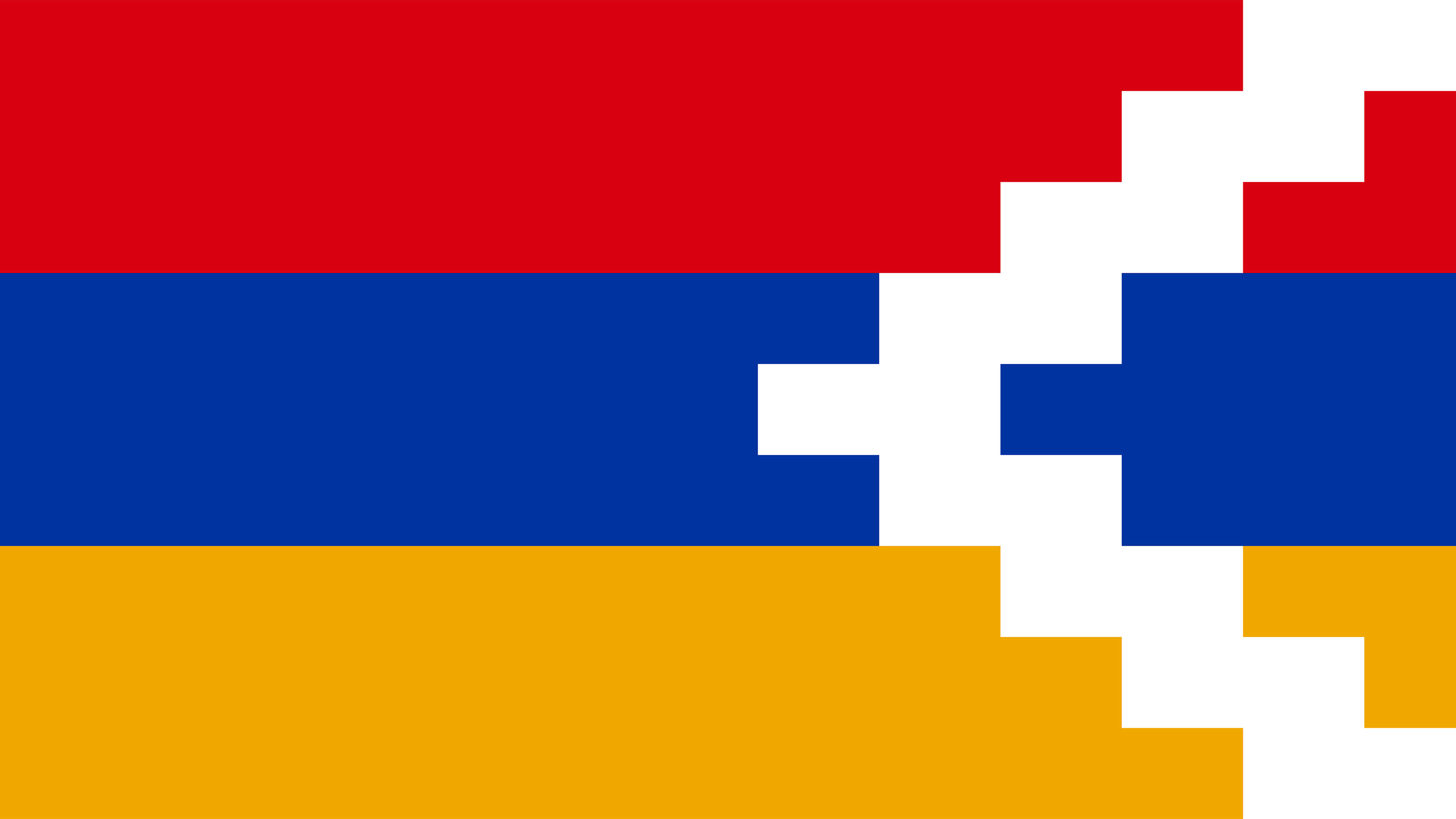 artsakh flag uhd 4k wallpaper