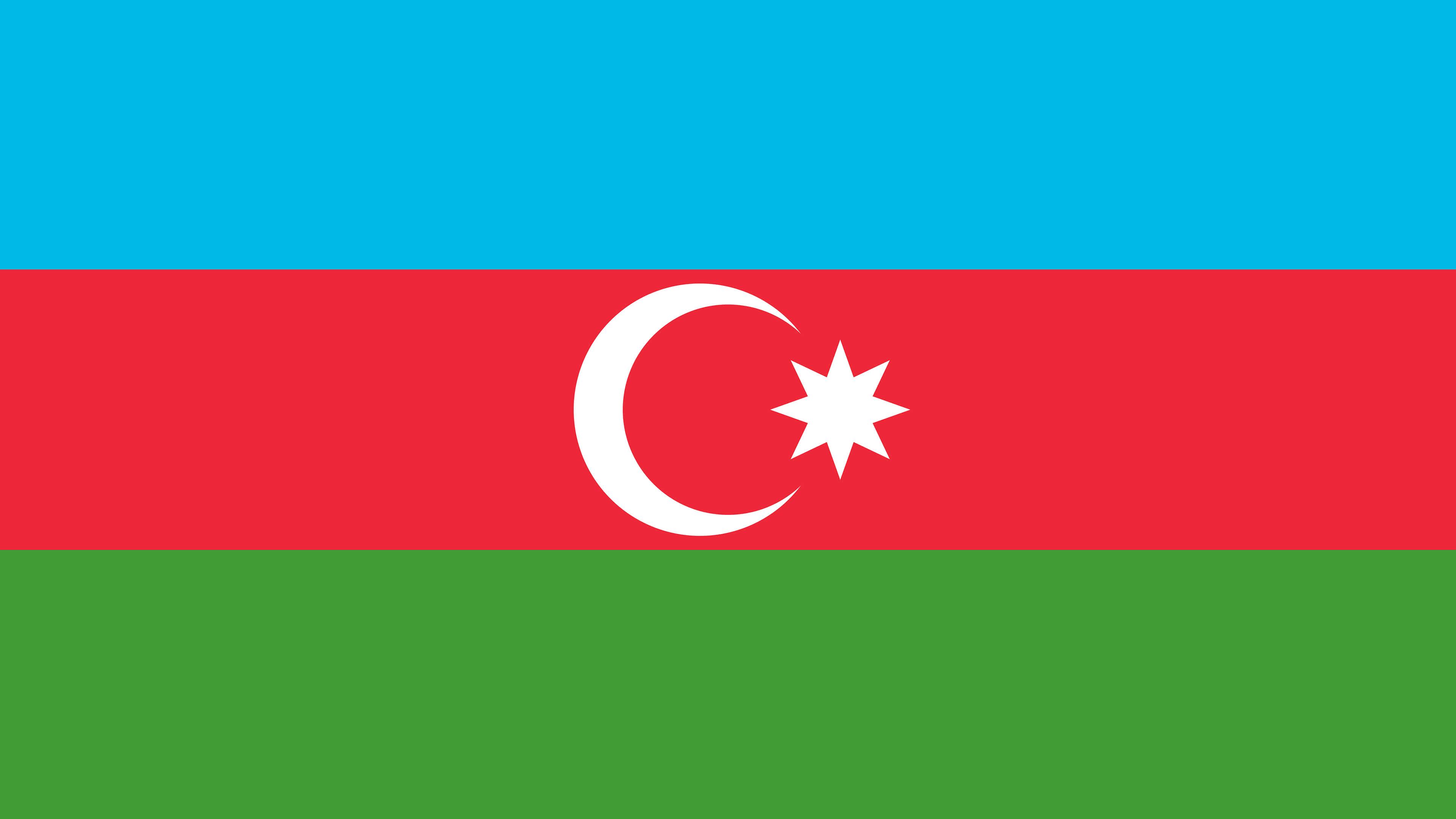 azerbaijan flag uhd 4k wallpaper