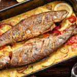 "<span itemprop=""name"">Baked Fish In Lemon Sauce</span>"