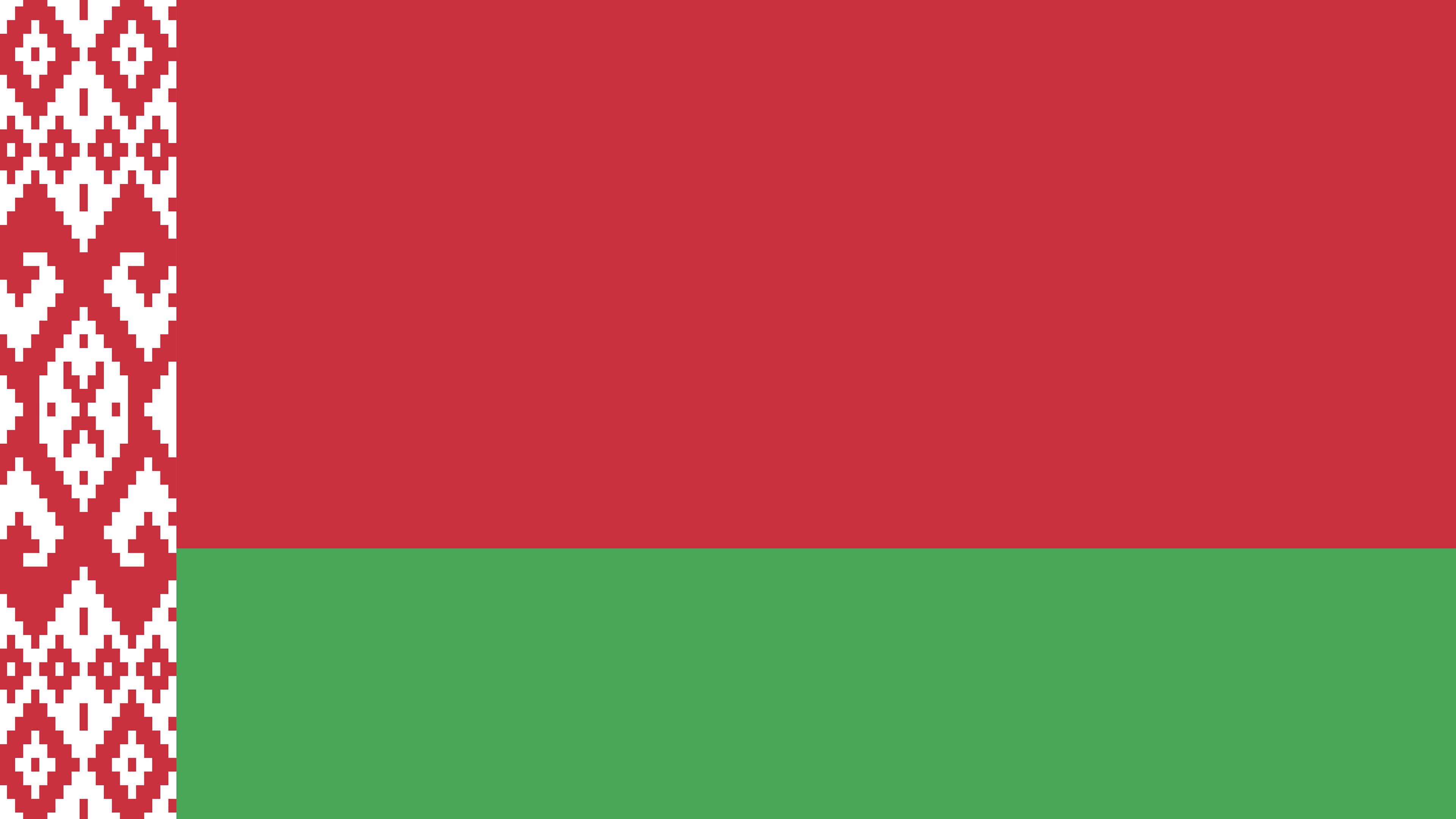 belarus flag uhd 4k wallpaper
