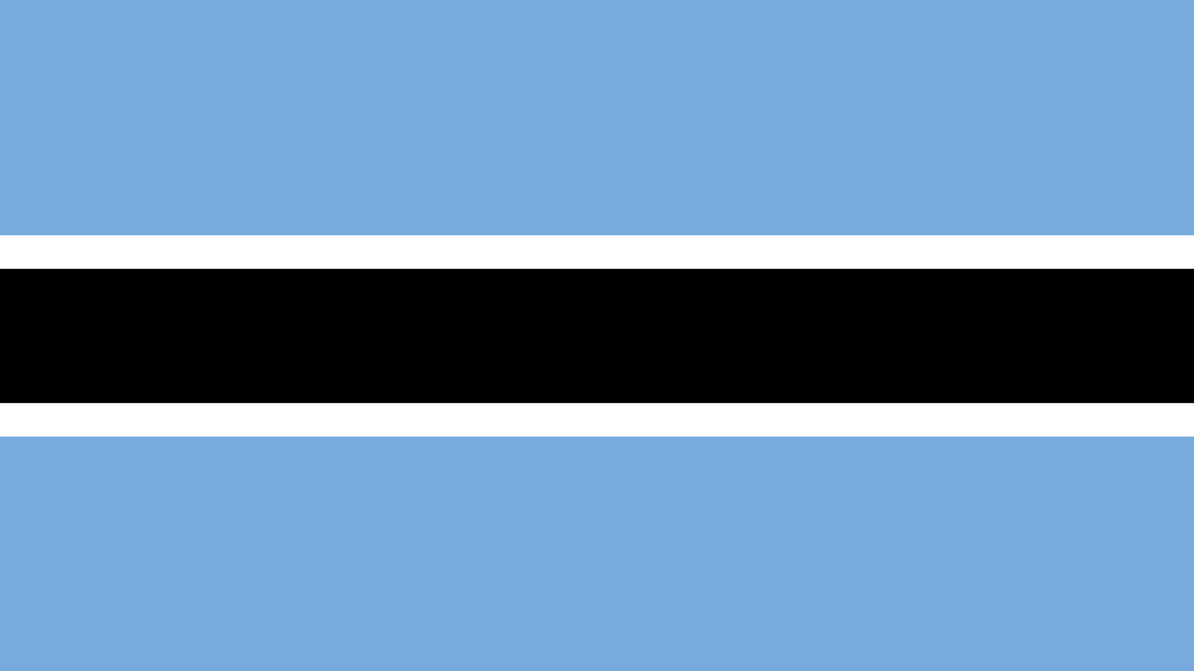 botswana flag uhd 4k wallpaper
