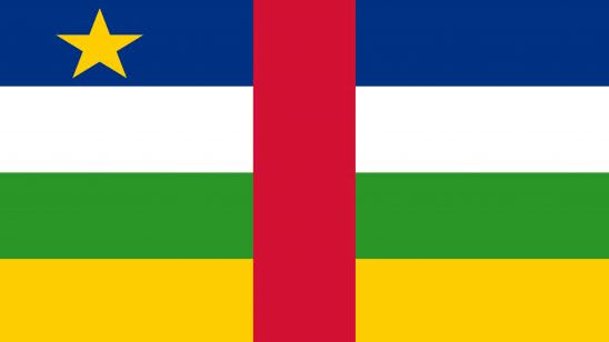 central african republic flag uhd 4k wallpaper
