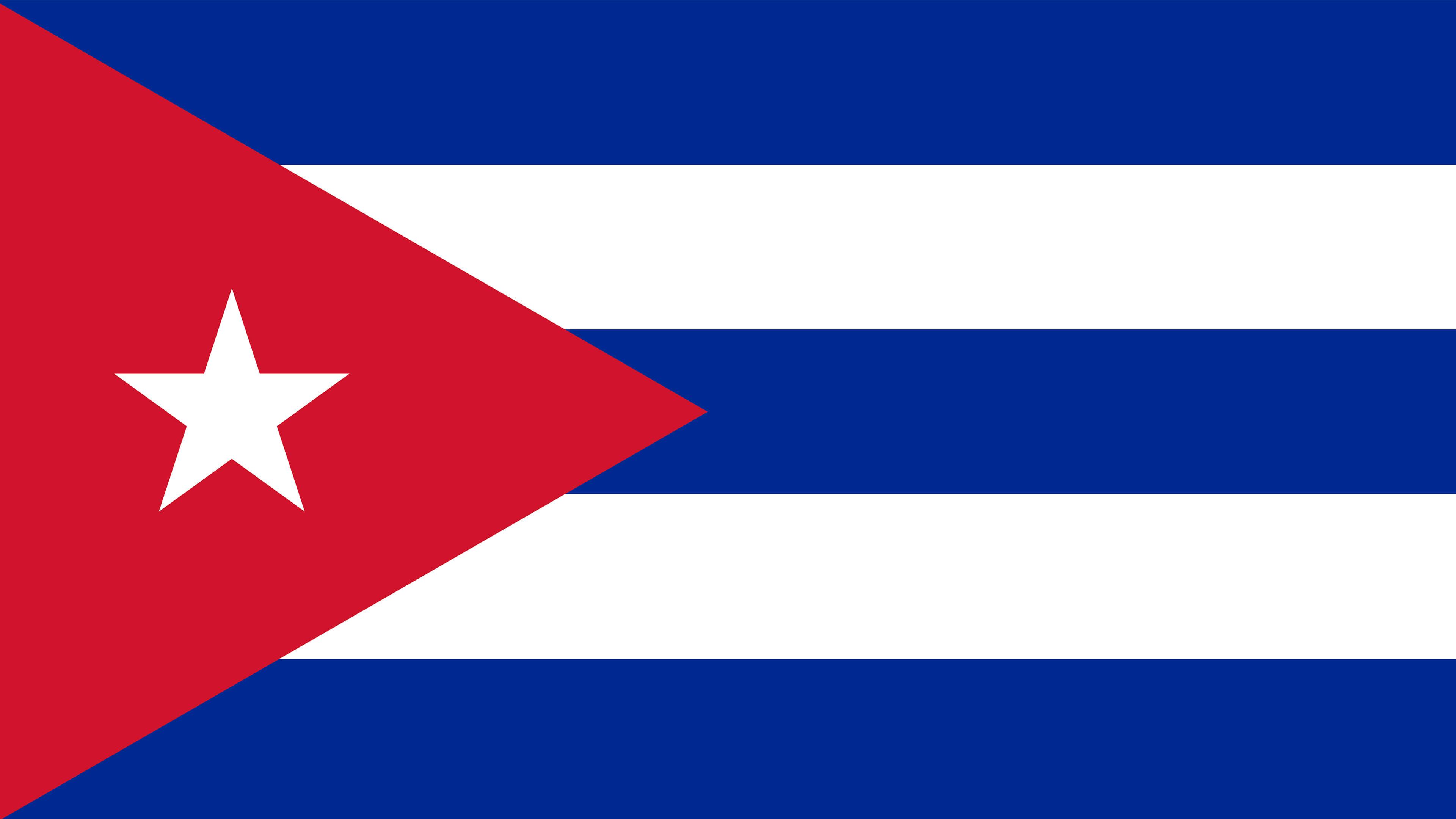 cuba flag uhd 4k wallpaper