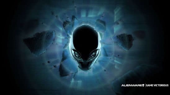 dell alienware logo uhd 4k wallpaper