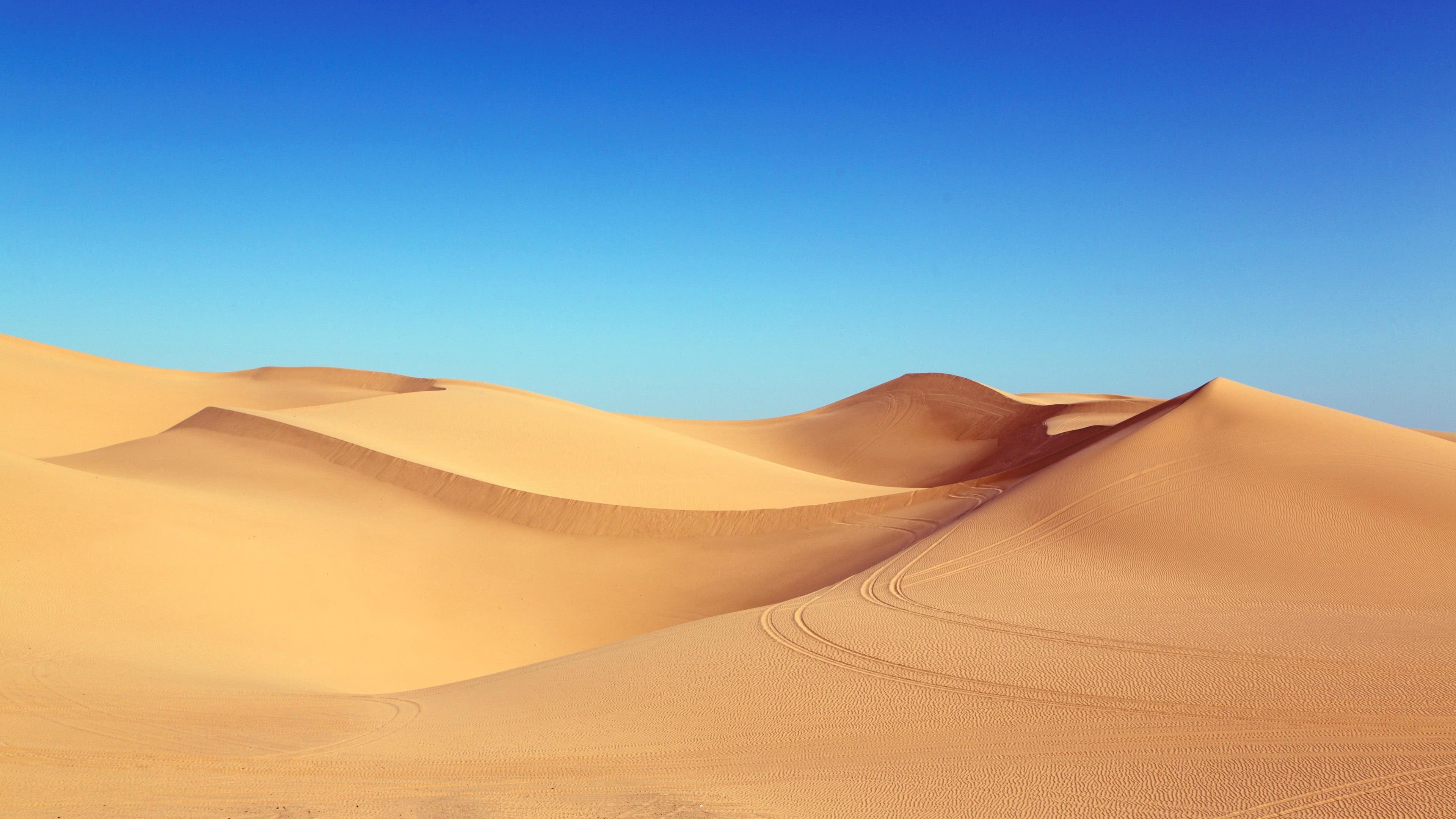 desert sand dunes uhd 4k wallpaper