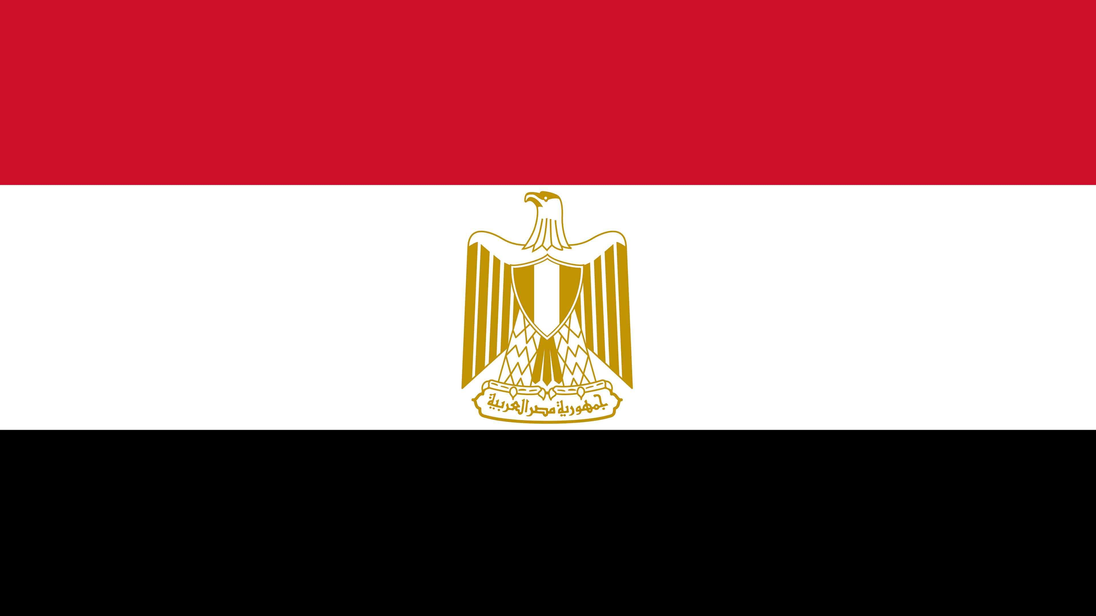 egypt flag uhd 4k wallpaper