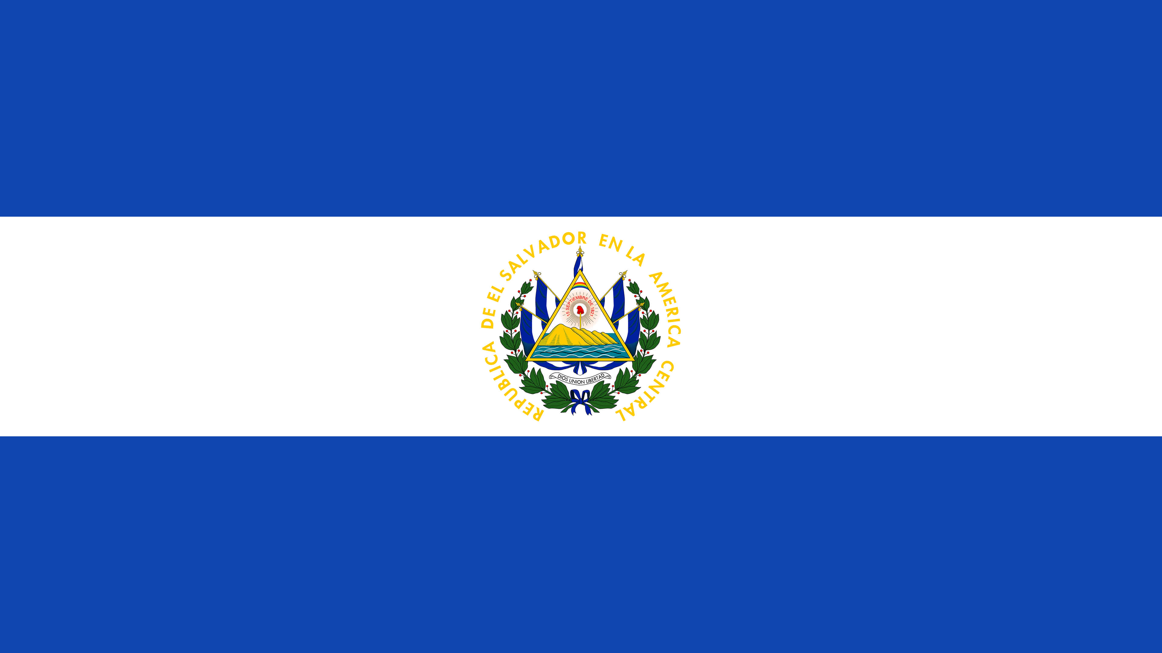 el salvador flag uhd 4k wallpaper