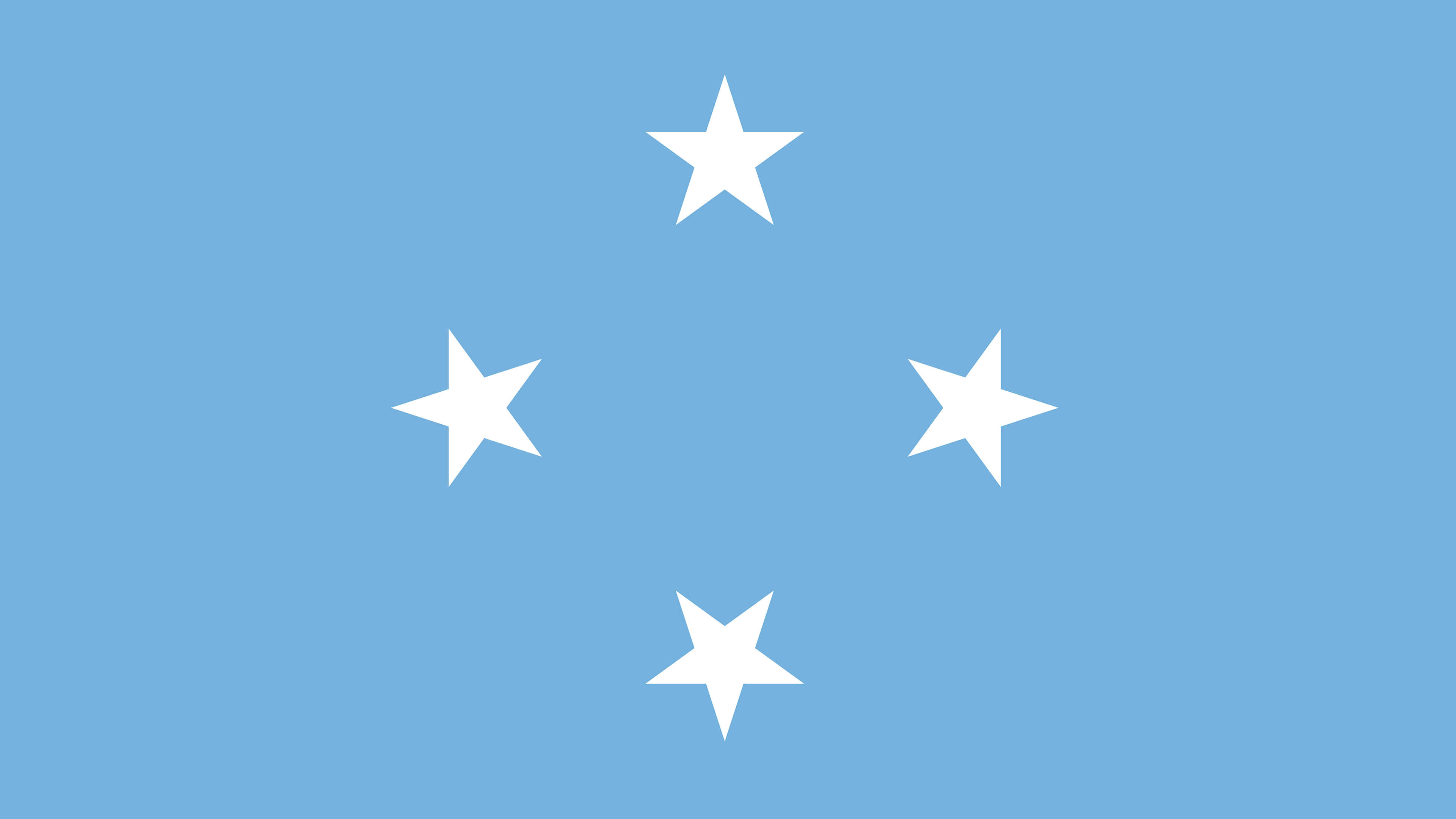 federated states of micronesia flag uhd 4k wallpaper