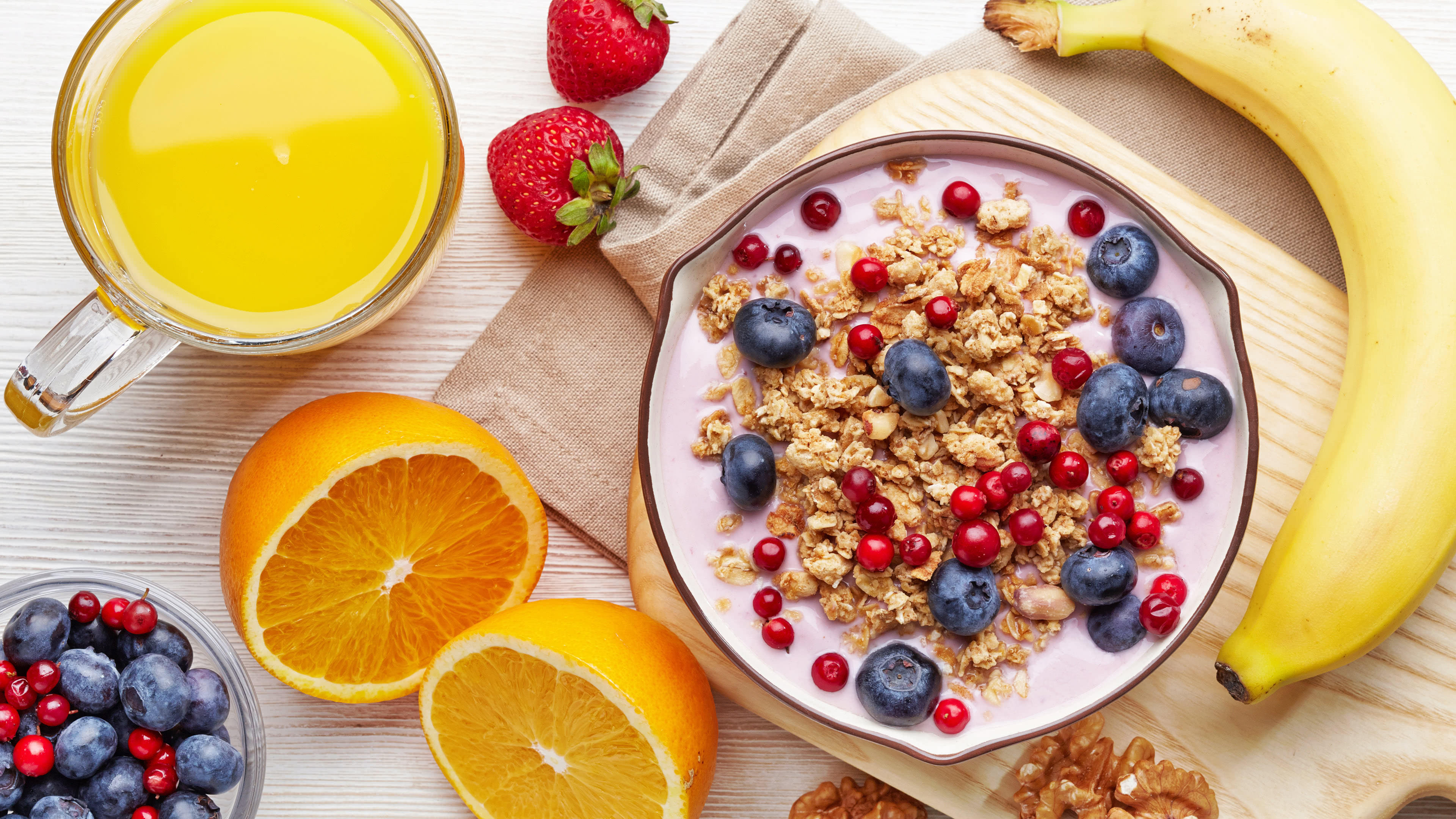 fruit and cereal uhd 4k wallpaper