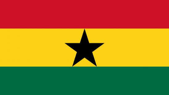 ghana flag uhd 4k wallpaper