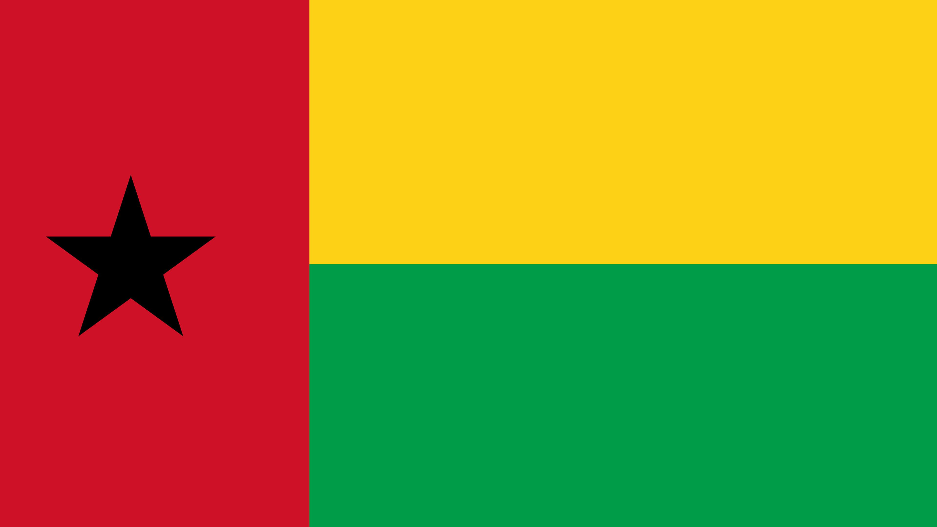 guinea bissau flag uhd 4k wallpaper