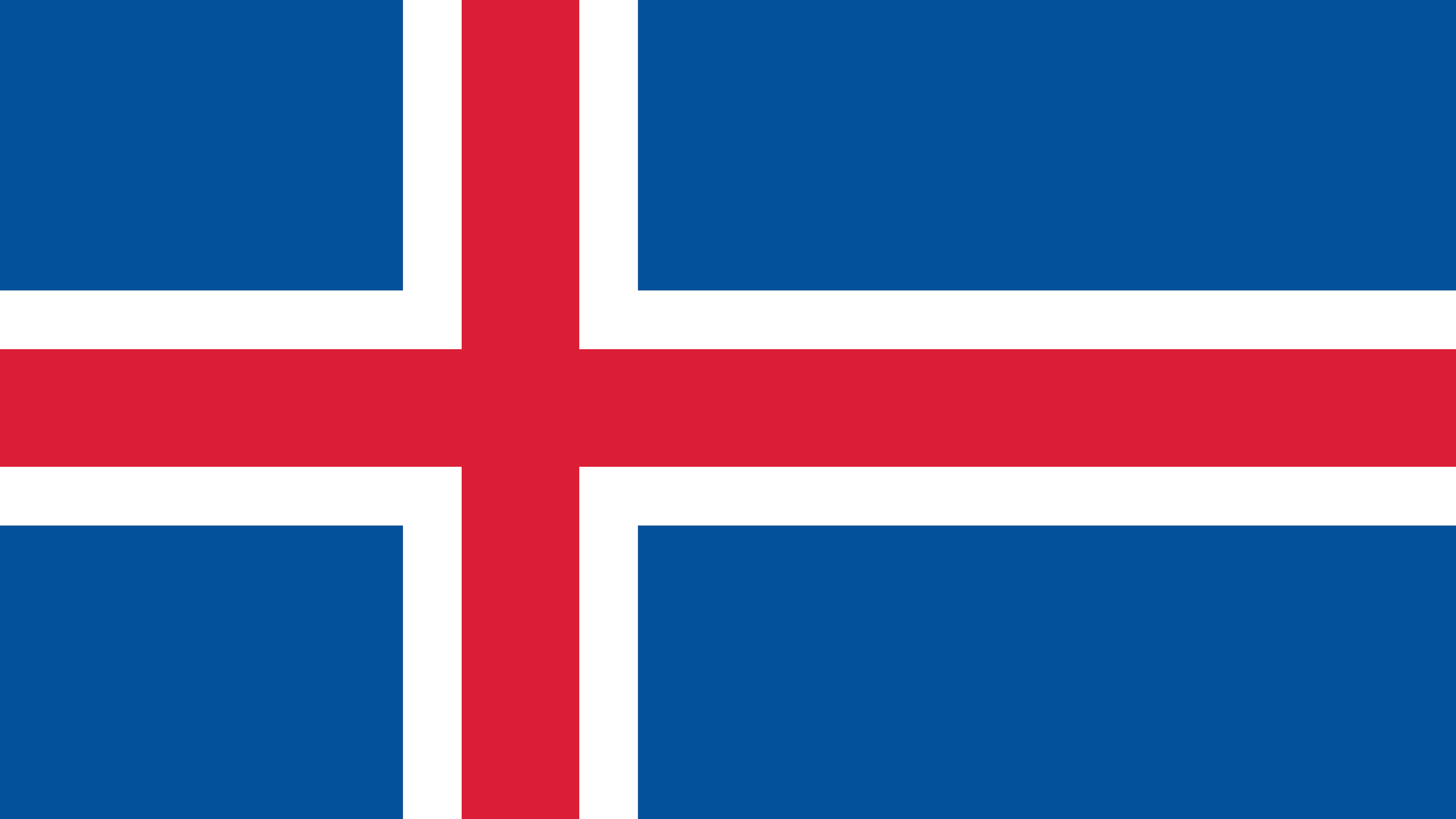 iceland flag uhd 4k wallpaper