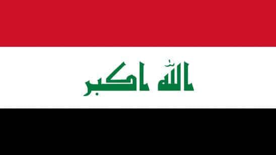 iraq flag uhd 4k wallpaper