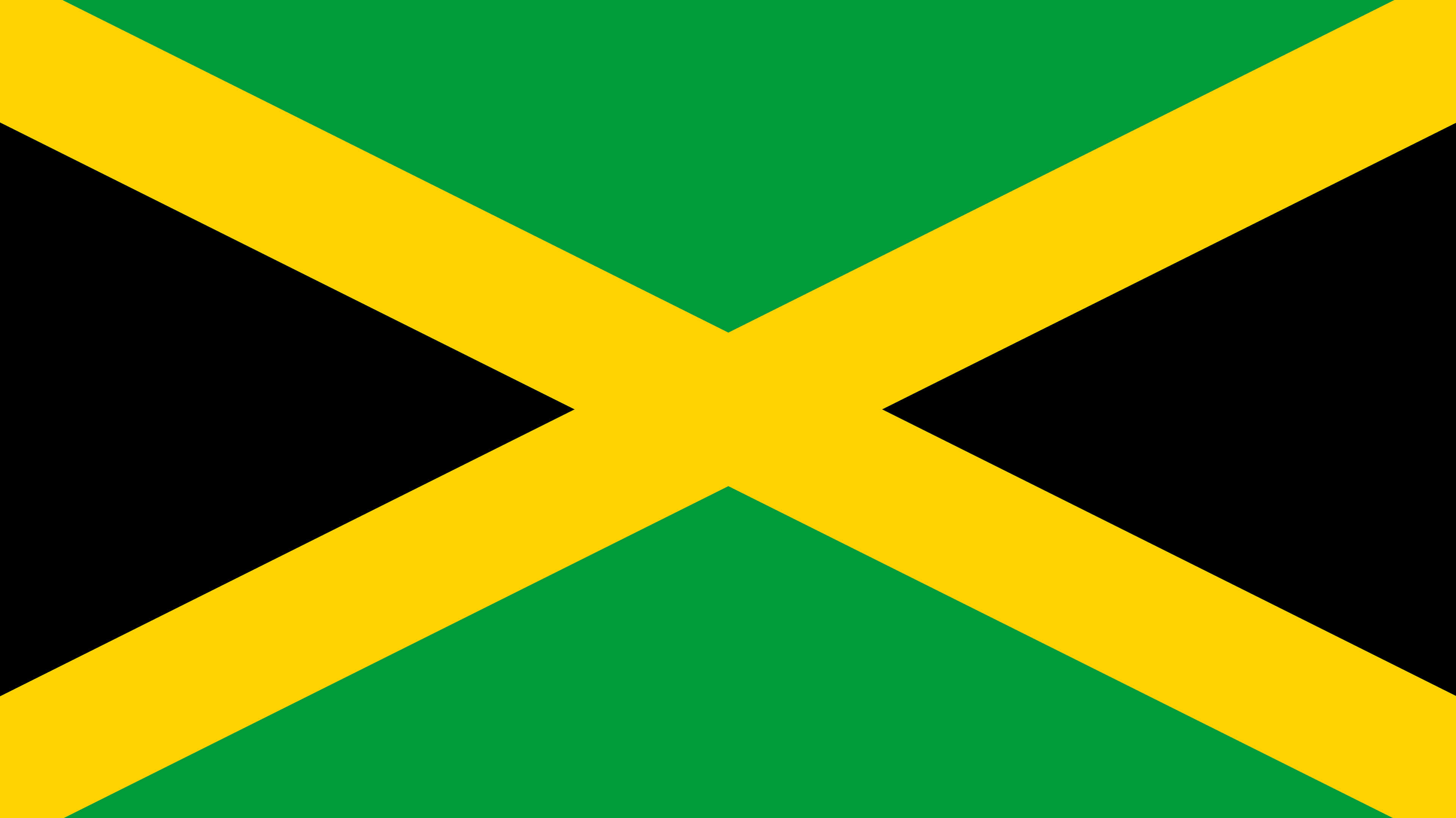 jamaica flag uhd 4k wallpaper