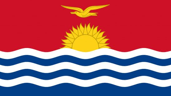 kiribati flag uhd 4k wallpaper