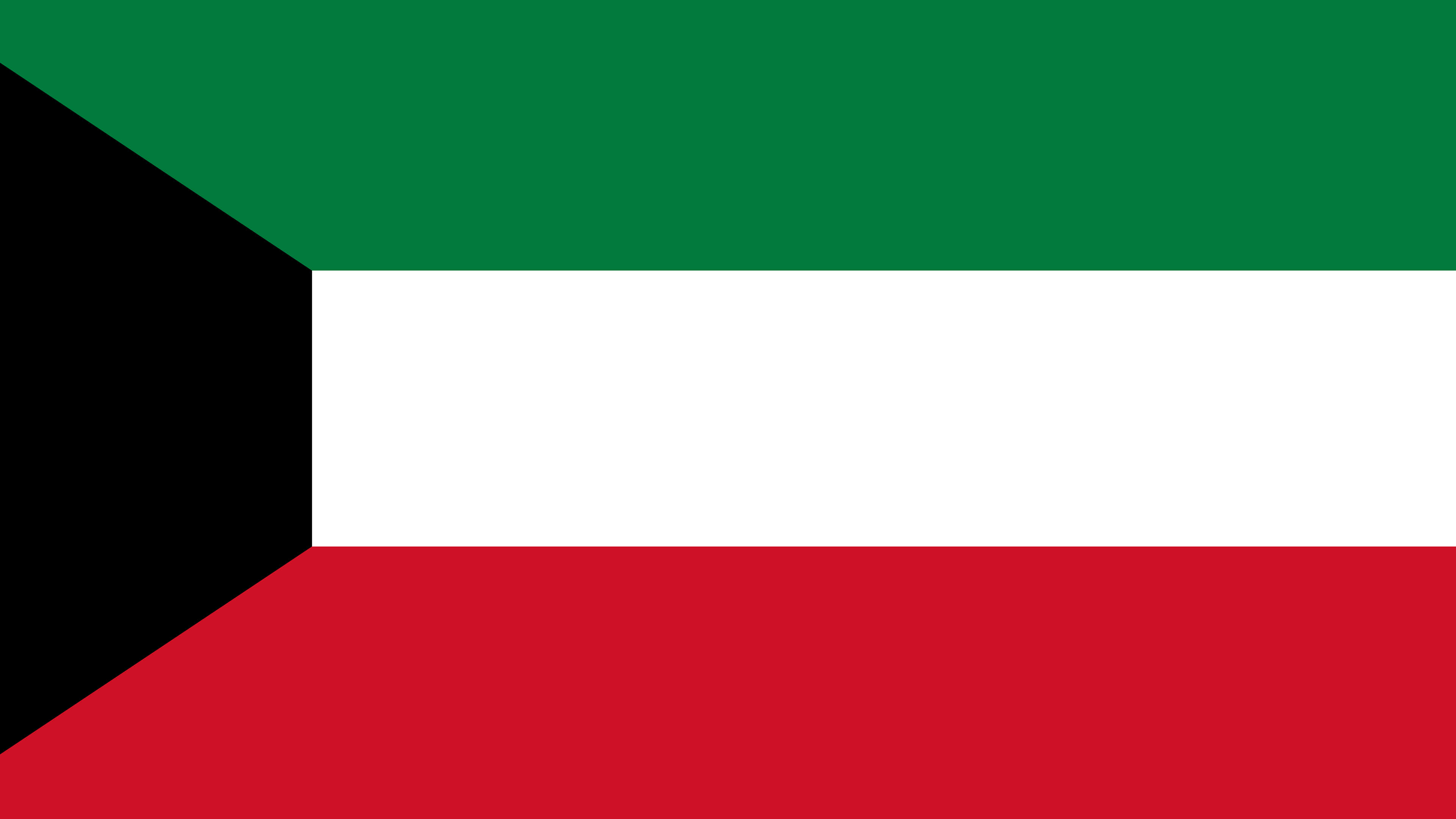 kuwait flag uhd 4k wallpaper