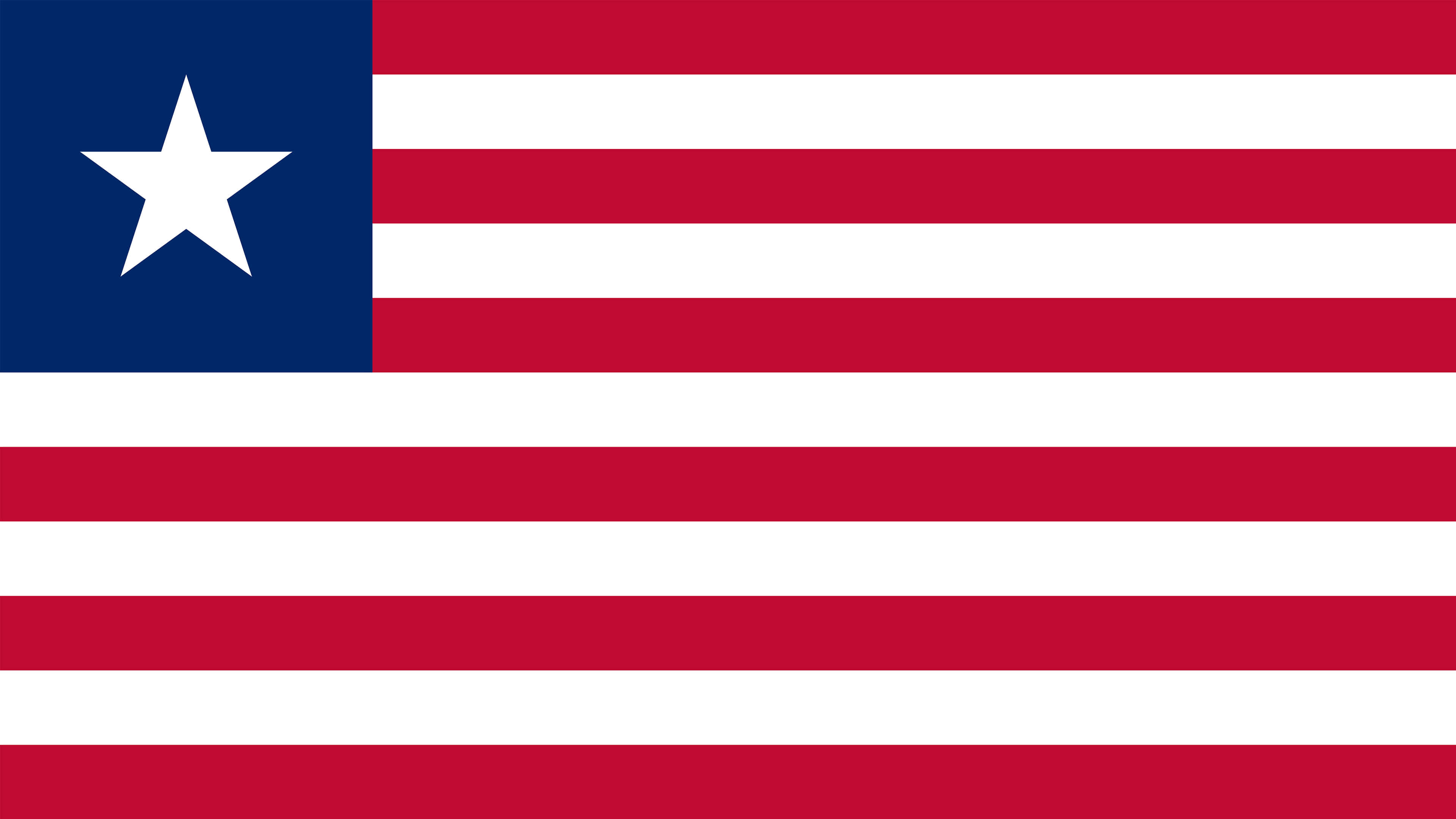 liberia flag uhd 4k wallpaper